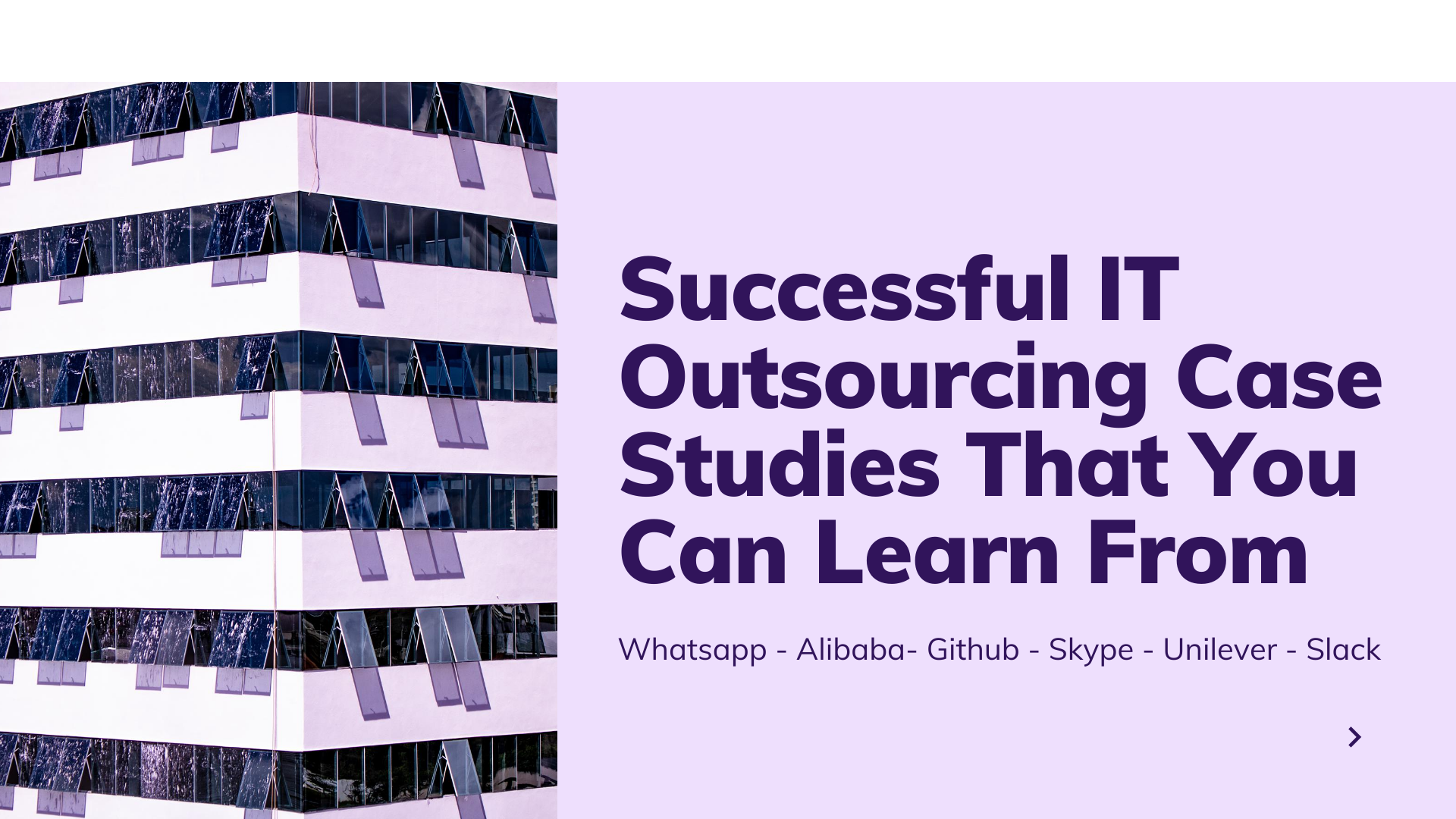 Successful Software Outsourcing Case Studies That You Can Learn From